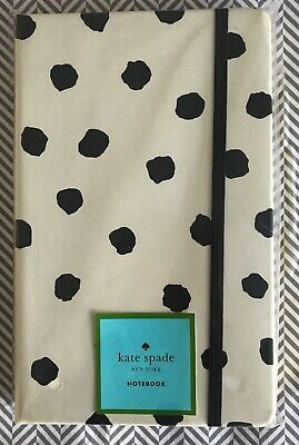 "Kate Spade New York ""Spotty Dot"" Concealed Notebook Journal - Brand New"