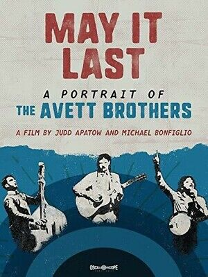D-670 New May It Last A Portrait of the Avett Brothers Movie 27x40IN Art Poster