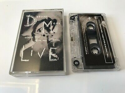 Depeche Mode Songs Of Faith And Devotion Live Cassette Tape Tested
