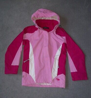 Girls Mountain Life Light Weight Rain Coat Hood Jacket Kids Age11/12 Years