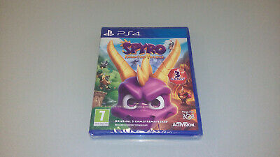 Spyro Reignited Trilogy for PS4 Playstation 4 - NEW + SEALED