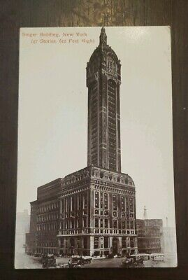Early Collectable N.y. Postcard