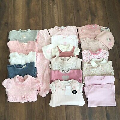 Girls 0-3-6 Months Bundle Outfits Dresses Sleepsuits NEXT LITTLE WHITE COMPANY