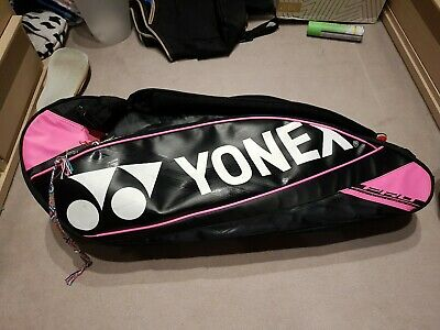 Yonex 4923 Team 3 Racket Bag Available in 2 colours: Black or Red