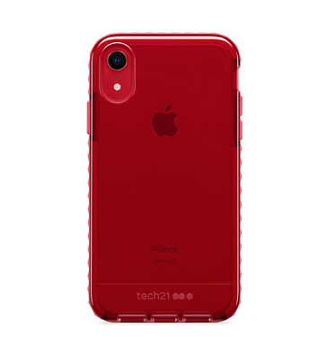 Tech21 Evo Rox Cover for iPhone X/Xs, Xr, Xs Max Drop Protection Case Cherry Red