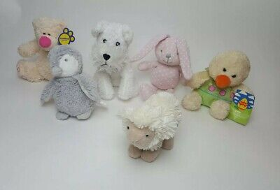 Bundle Of Branded Small Plush Toy 6 items