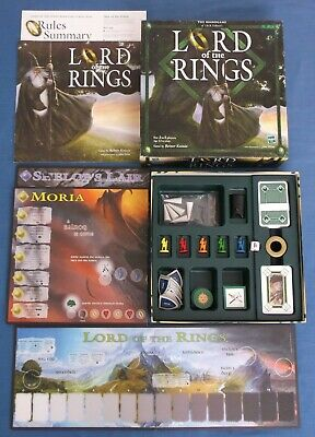 Lord Of The Rings Board Game Jrr Tolkien Reiner Knizia Parker Hasbro Complete