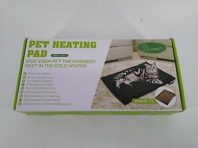 Pecute Pet Heating Pad Low Voltage Safe Electric Heating Pet Mat For Dogs And Ca