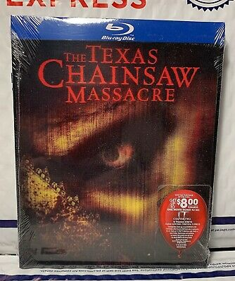 New The Texas Chainsaw Massacre (2003) Blu-Ray! W-Lenticular Slipcover! Sealed
