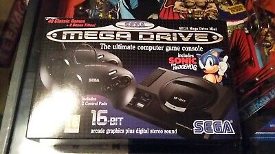 Sega Mega Drive Mini Classic Console Boxed With 100 Games!!