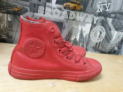 CONVERSE  ALL STAR Red High Top Trainers Size 13.