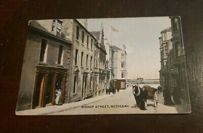 Early Collectable Rothesay Postcard
