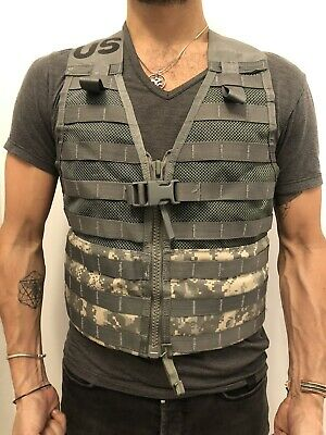 NEW US ARMY Military Surplus Molle II ACU Fighting Load Carrier FLC Vest