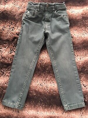 Next Boys Age 3 Green Skinny Jeans
