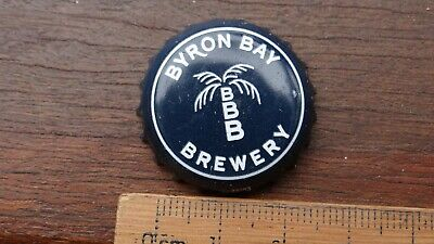 """1 x BYRON BAY BREWERY """"THE JUNGLE GIANTS WERE HERE '12"""" BOTTLE CAP"""