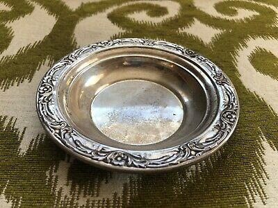 Vintage Reed & Barton Sterling Silver X745 Pattern Ashtray