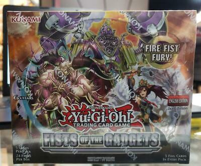 Konami Yu-Gi-Oh! Fists Of The Gadgets Booster Box 1st Edition