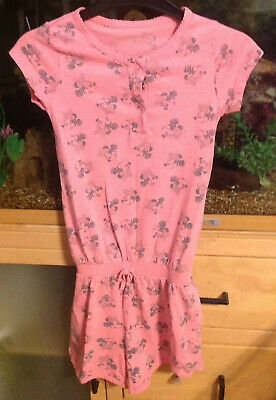Pink Mini Mouse Pyjama Shortie Suit Age 7/8 Years Primark