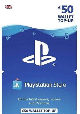PSN gift Card (PlayStation NetworkGift Cars £50 Quick Delivery)