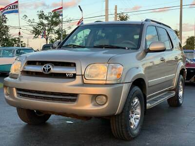 2006 Toyota Sequoia Limited 4dr SUV 2006 Toyota Sequoia Limited 4dr SUV Automatic 1 OWNER FLORIDA TRUCK WOW L@@K !!!
