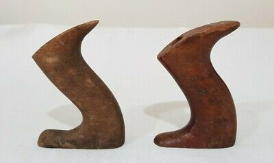 2 x Wood Plane Totes / Rear Handles may suit Stanley Falcon Pope Record etc.