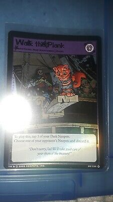 Neopets Trading Card Holo - Walk the Plank- Curse of Maraqua 20/120