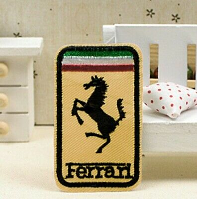 Ferrari embroidered patch applique emblem motor racing mark wappen *1836