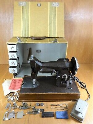 Heavy Duty KENMORE ROTARY Sewing Machine 117.811  CANVAS LEATHER - SERVICED