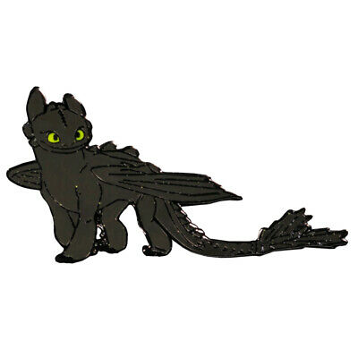 How to Train Your Dragon Toothless Enamel Pin