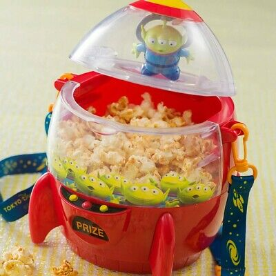 Tokyo Disney Resort Limited Rapunzel Lightening Pascal Popcorn Bucket 2019 Rare