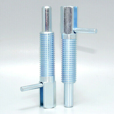Retracted Index Plunger Spring Loaded without Locking Nut Coarse Thread Pin Accs