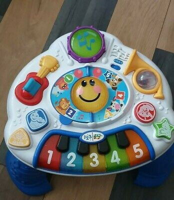 baby play learn activity table