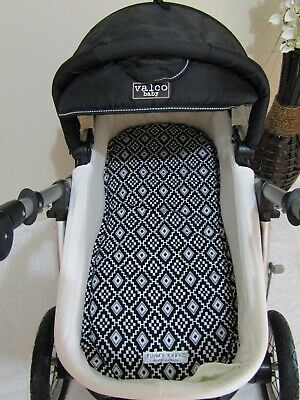 Pram bassinet liner-Aztec-Fits all pram bassinets