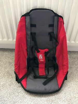 Phil & Teds Sport Red Second/Rear/Tandem Seat