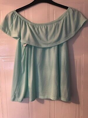 Candy Couture Girls Mint Green Top Age 15 Years - BNWT