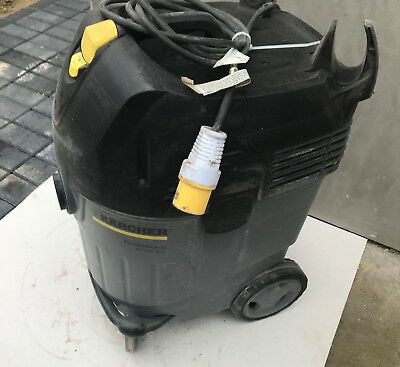 3x Karcher NT 45/1 Eco Vacuum Cleaner Grey 110v With New Filter