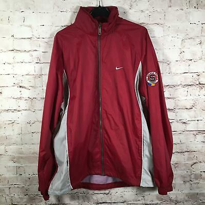 Nike Large AC Sparta Praha Track Jacket Wind breaker GB 42/44 Prague Football