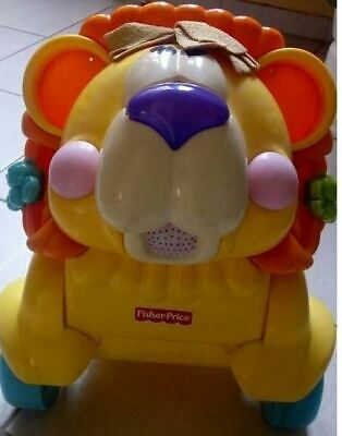 Trotteur lion  Fisher Price , bon état