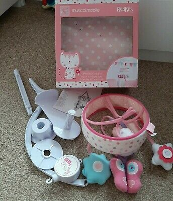 Red Kite, Pink Cot Mobile
