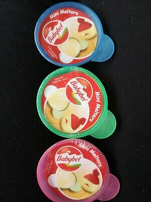 3 x Brand New Babybel Cheese Mini Melters For Microwave