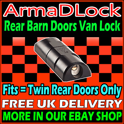 Volkswagen Crafter High Security Van Hasp Locks REAR DOORS ArmaDLock Arma D Lock
