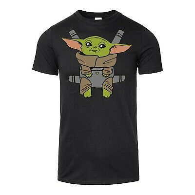 Carry Baby Yoda Printed T-Shirt Adults & Kids Sizes
