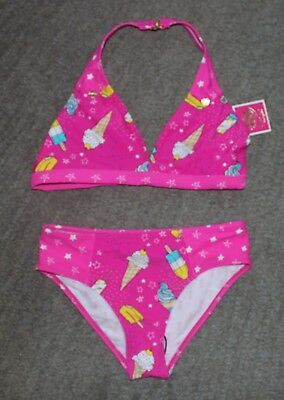 Juicy Couture Girls Two-Piece Swimsuit - Size 10 - NWT