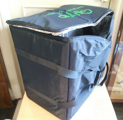 MASSIVE Delivery Drivers Insulated Food/Drinks Bag Take Away Hot/Cold Deliveries