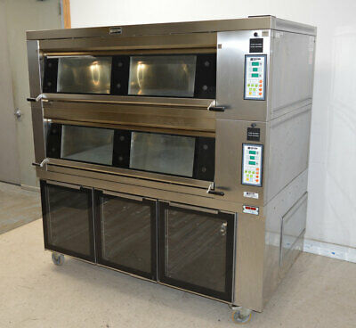 Doyon 4T2P Artisan 4T-Series Brick Two-Deck-Oven & Proofer 3-Chamber 3Ph 8080-Cn