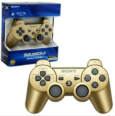 Mega Angebot*Sony Playstation 3 Sixaxis Controller Gold Neuware WOW