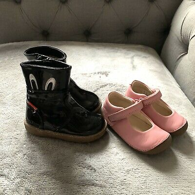 Girls Clarks Shoes & Boots Size 3 | Toddler Infant Baby Bundle