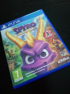 Spyro reignited trilogy and South Park PS4