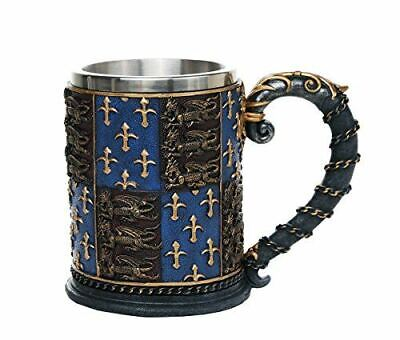 Pacific Giftware Medieval Times Coat of Arms Mug Tankard 13oz