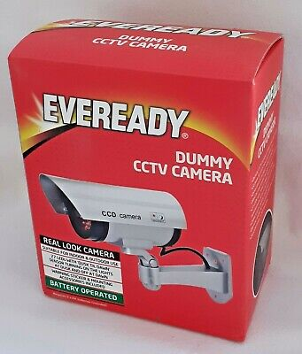 Eveready Dummy CCTV Camera - For Indoor & Outdoor Use - Brand New